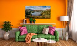 Early Autumn Grasmere - Canvas Print on Wall