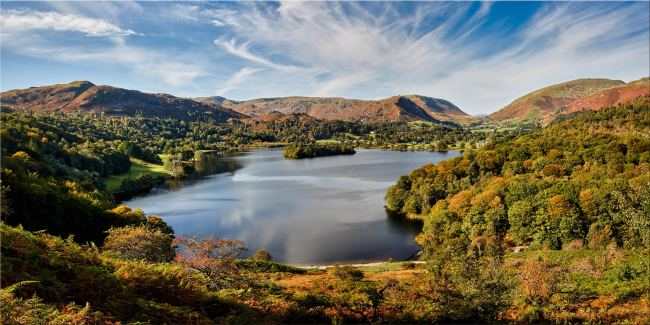 Early Autumn Grasmere - Canvas Print