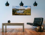 Early Autumn Grasmere - Print Aluminium Backing With Acrylic Glazing on Wall
