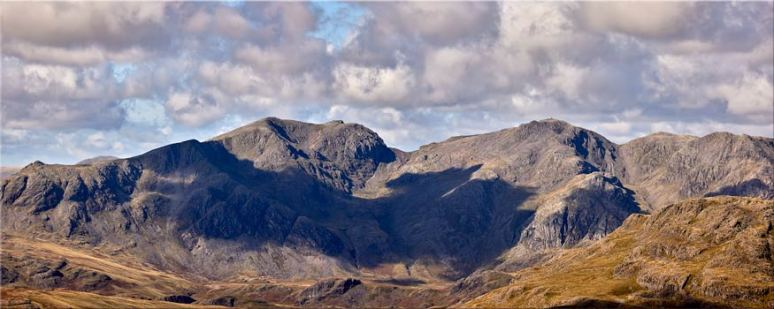 Sca Fell From Coniston Fell - Lake District Canvas