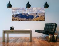Sca Fell From Coniston Fell - Canvas Print on Wall