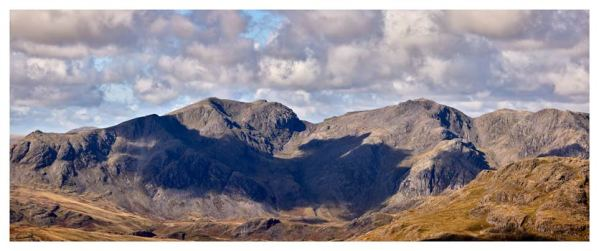 Sca Fell From Coniston Fell - Lake District Print