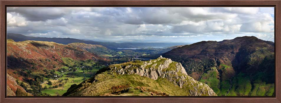 Pike Howe in Great Langdale - Modern Print