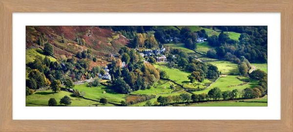 Chapel Stile in Langdale - Framed Print with Mount
