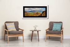 Cat Bells form Maiden Moor - Framed Print with Mount on Wall