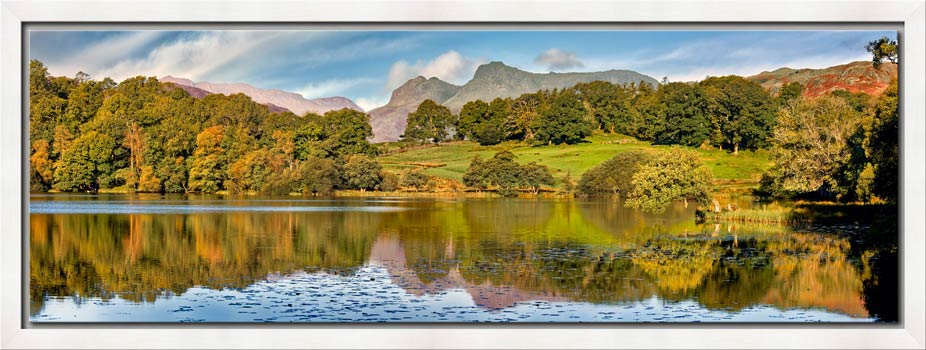 Loughrigg Tarn in Late Summer - Modern Print