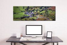 Buttermere Village - Canvas Print on wall