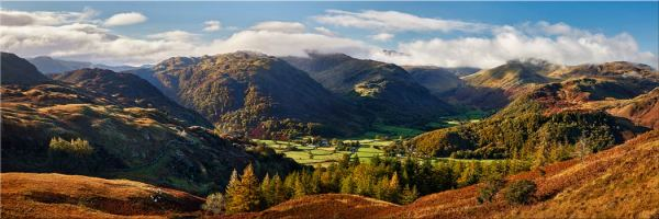 Beautiful Borrowdale - Canvas Print