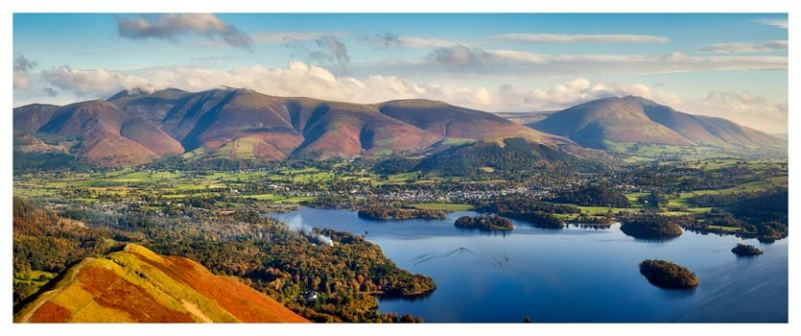 Keswick to Skiddaw - Lake District Print