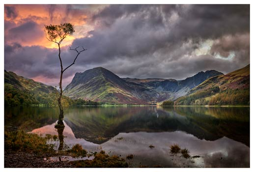 Buttermere Sunrise - Lake District Print