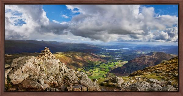 Harrison Stickle Summit View - Modern Print