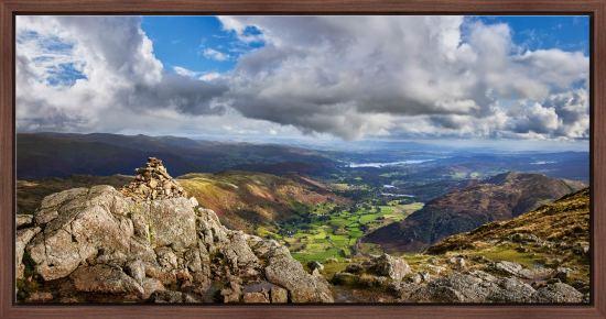Harrison Stickle Summit View - Modern Print