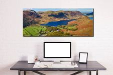 Contemplating Crummock Water - Canvas Print on Wall