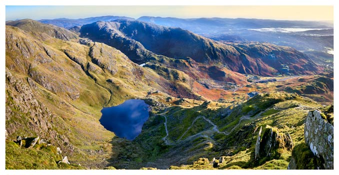 Low Water from Old Man - Lake District Print