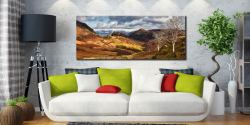 Kings How and Castle Crag - Canvas Print on Wall