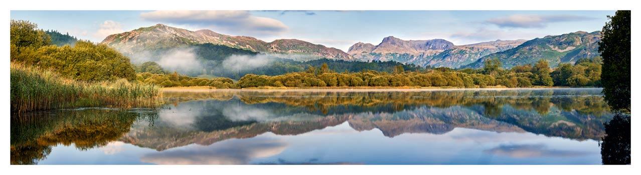 Elterwater Tranquility - Lake District Print