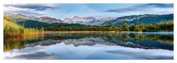 Elterwater Serene Morning - Prints of the Lake District