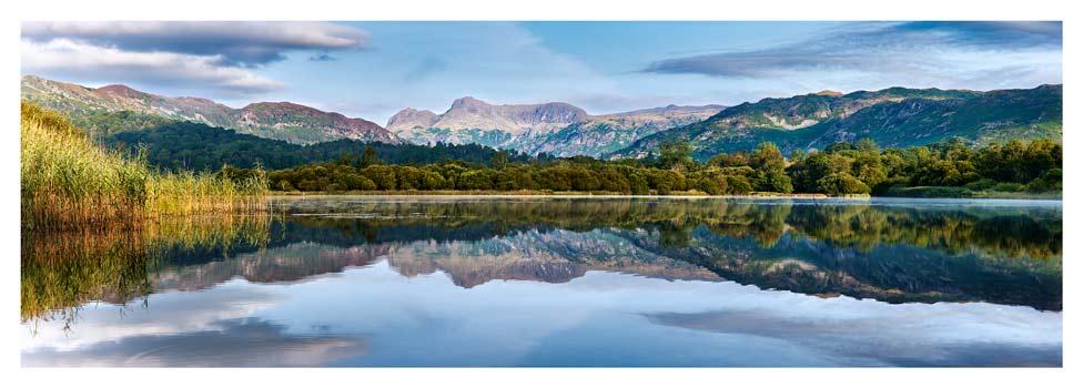 Elterwater Serene Morning - Lake District Print