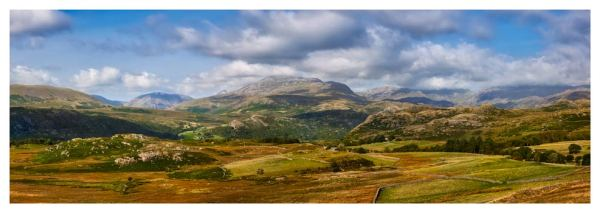 Sca Fell Range from Birker Fell - Prints of the Lake District