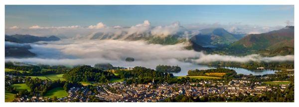 Derwent Water Cloud Inversion - Prints of the Lake District