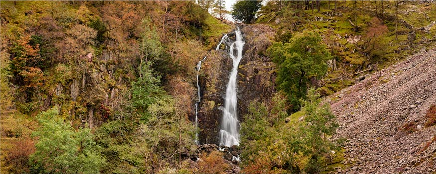 Taylor Gill Force Gorge - Lake District Canvas