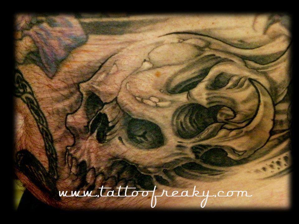 skull tattoos nz