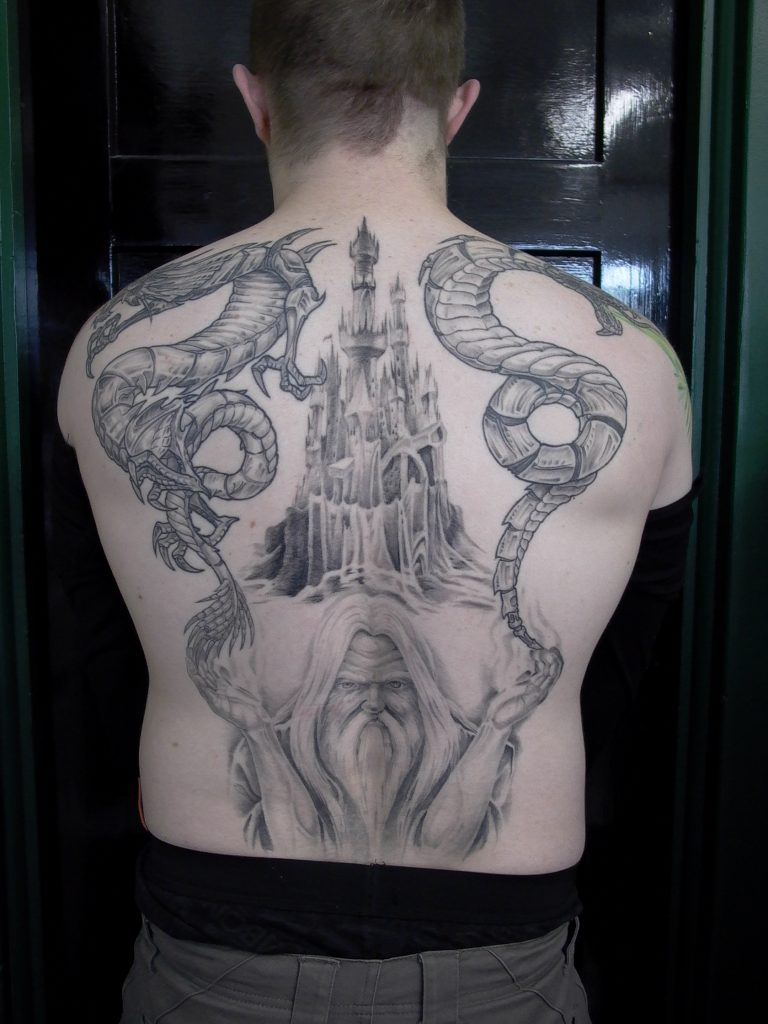 wizard castle tattoo new zealand