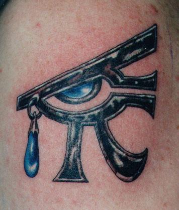 eye horus tattoo Tauranga New Zealand