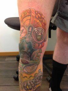 steampunk tattoo tattoo Tauranga New Zealand