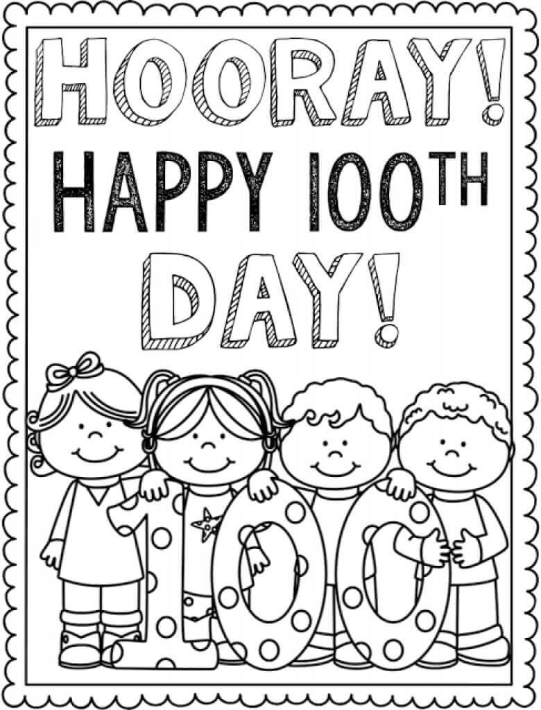 100th Day Of School Coloring Pages Coloring Pages Ideas Coloring Pages Ideas Days Of School Free