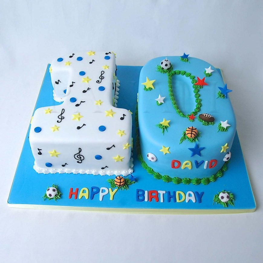 10Th Birthday Cake 12 Tenth Birthday Cakes For Boys Photo Girls 10th Birthday Cake