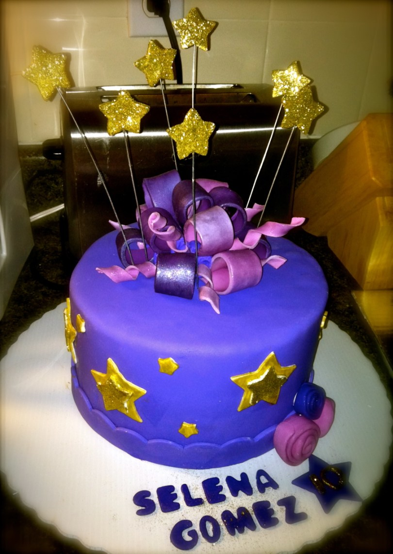 10Th Birthday Cake Selena Gomez 10th Birthday Cake Cakecentral