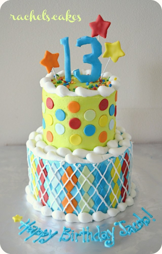 13 Birthday Cakes Party 13th For Boys Photo