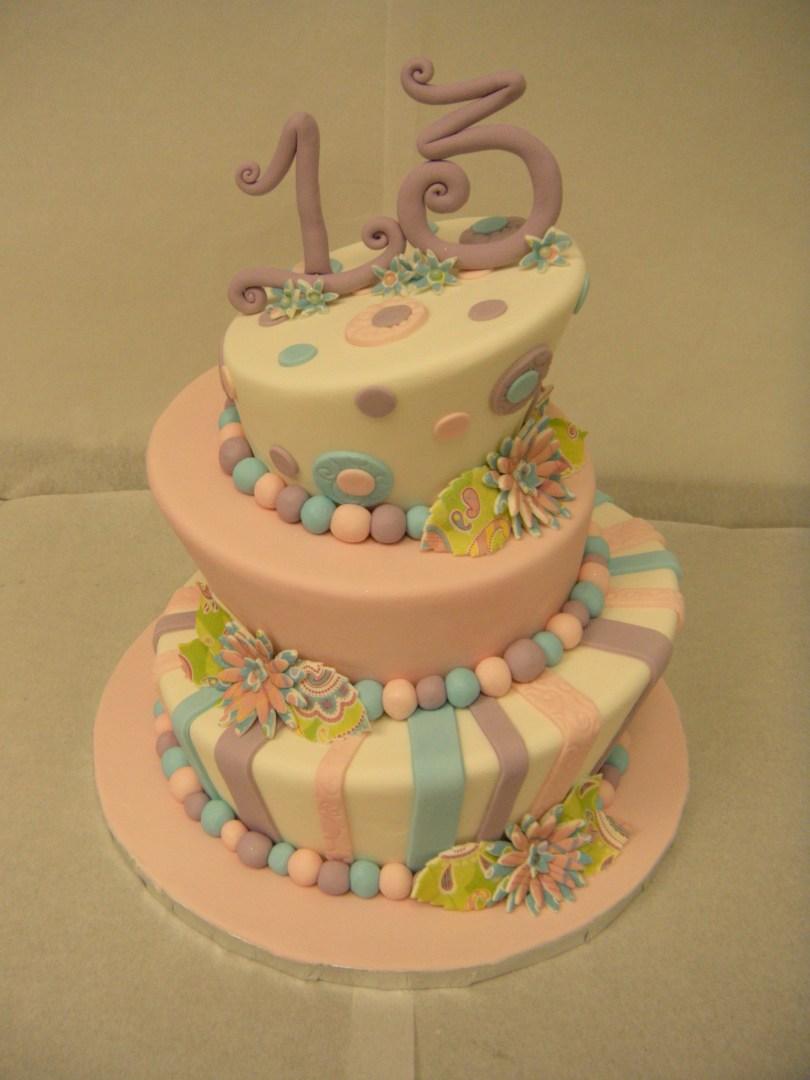 13Th Birthday Cake 13th Birthday Cake Main Made Custom Cakes