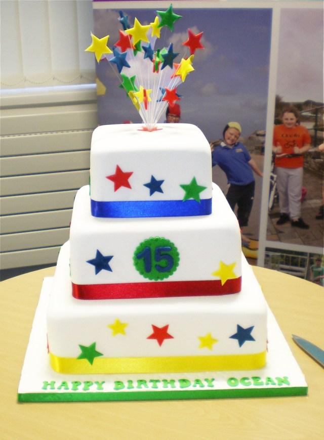 15Th Birthday Cakes Oceans 15th Birthday Ocean Housing