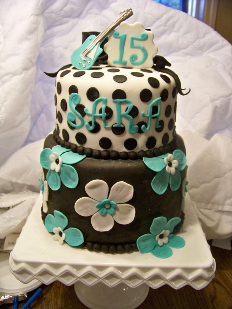 15Th Birthday Cakes Saras 15th Birthday Cake Tessa Bday 15th Birthday Cakes Cake