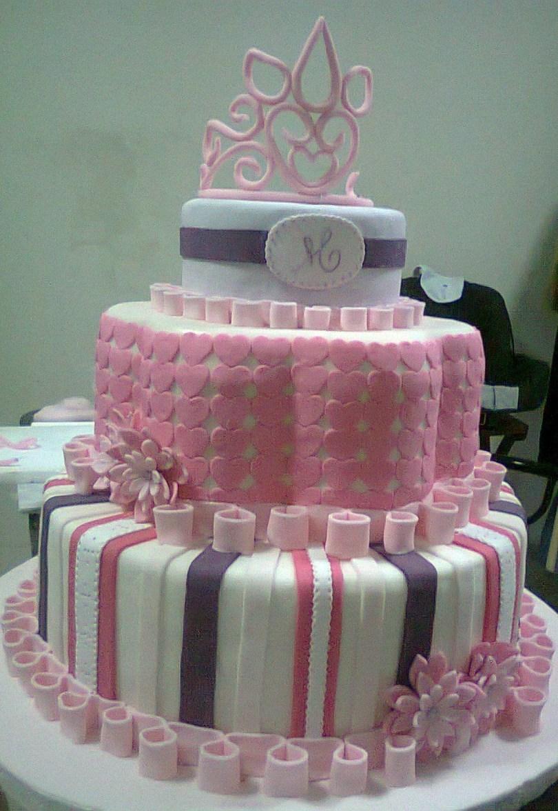 15Th Birthday Cakes Sweet 15 Birthday Cake My Sister Magics Hands Pinterest Cake