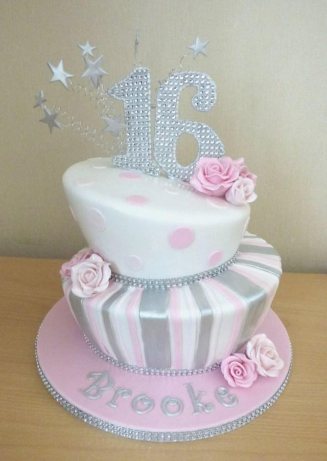 16Th Birthday Cake Ideas Sweet 16 Birthday Cakes Ideas Colorfulbirthdaycakesga