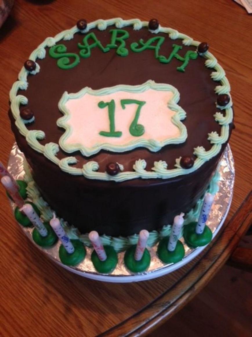 17 Birthday Cakes 17th Birthday Cake Cakecentral With Stylish 17th Birthday Cake Ideas