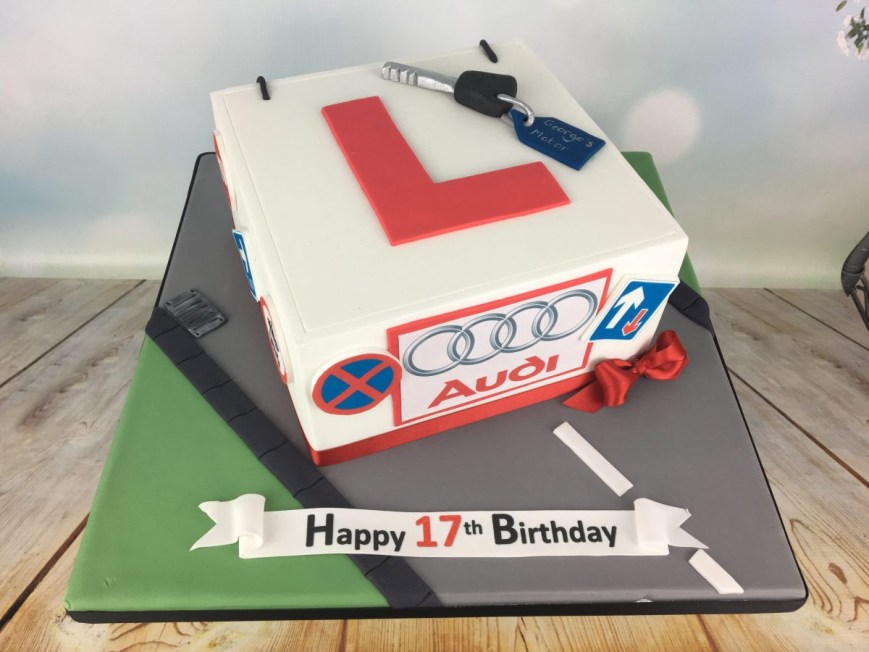 17 Birthday Cakes Learner Driver Birthday Cake Mels Amazing Cakes