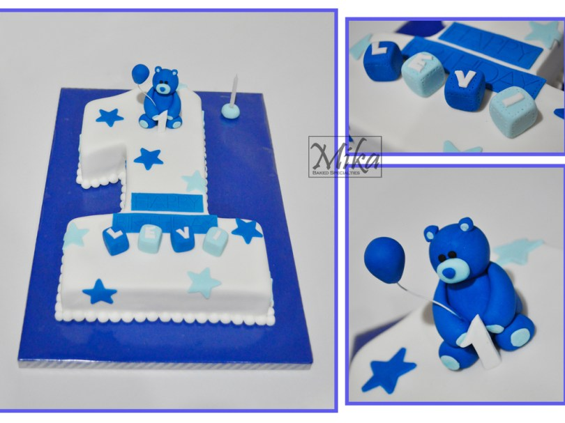 1St Birthday Cakes For Boys 1st Birthday Cake Boy Cakecentral