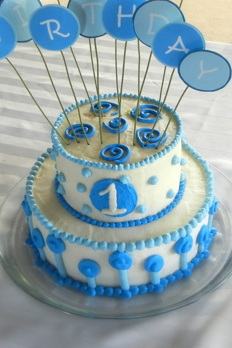 1St Birthday Cakes For Boys 8 First Birthday Cakes For Boy B Day Photo Ba Boy First Birthday