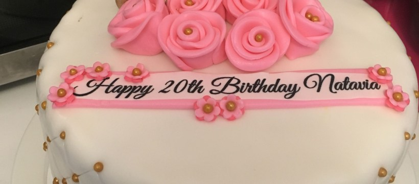 20Th Birthday Cake Happy 20th Birthday Cake Cakes Trish Lorie Pinterest 20