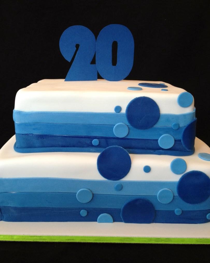20Th Birthday Cake Tys 20th Birthday Cake