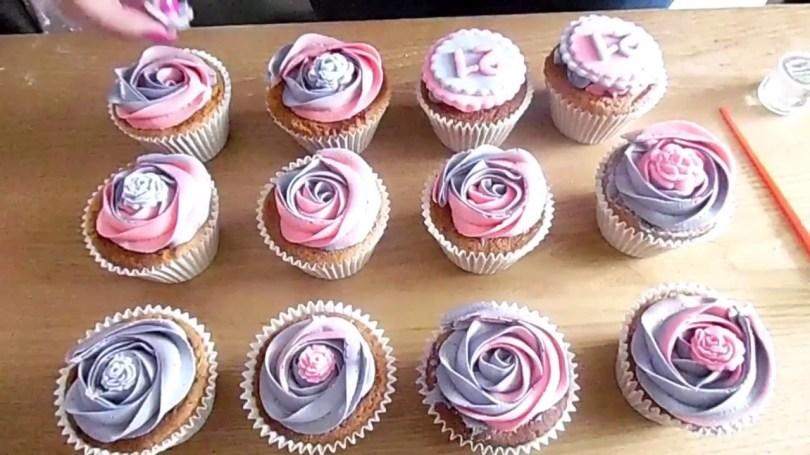 21St Birthday Cake Ideas Decorating 21st Birthday Cupcakes Youtube