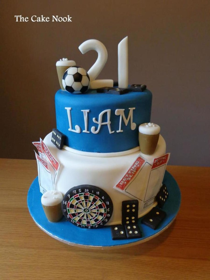 21St Birthday Cakes 21th Birthday Cake For A Male 21st Birthday Cakes 21st Birthday