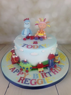 2Nd Birthday Cake In The Night Garden 2nd Birthday Cake Archives Mels Amazing Cakes