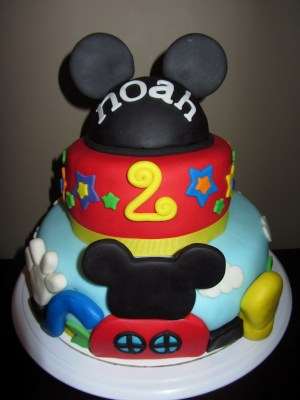 2Nd Birthday Cake The Sweet Life Mickey Mouse 2nd Birthday Cake