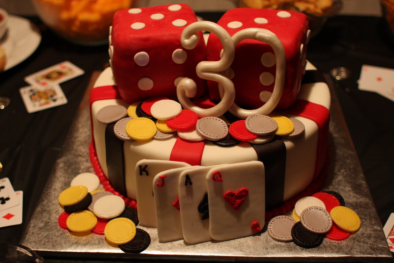 30th Birthday Cake Decorations For Him