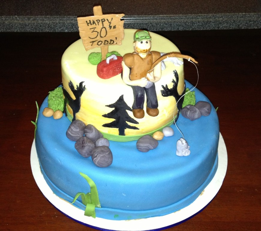 30Th Birthday Cake Ideas For Him My Husbands 30th Birthday Cake Food Pinterest 30 Birthday